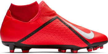 Nike Phantom VSN Academy DF FG/MG felnőtt stoplis focicipő narancssárga