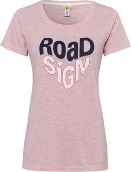 ROADSIGN női póló Nők rózsaszín