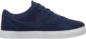 Nike SB Check Suede gyerek szabadidőcipő kék