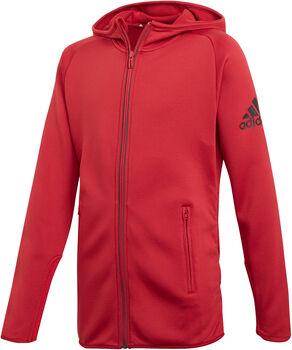 adidas FreeLift FZ  lány kapucnis felső piros