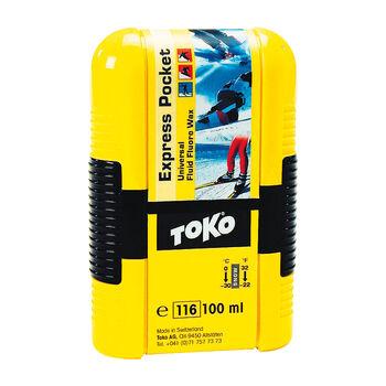 TOKO  Express Pocket 100 mlUniversal Fluid Fluoro Wax fehér