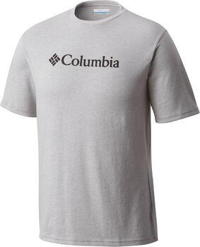 Columbia CSC Basic Logo S férfi póló Férfiak szürke