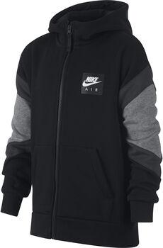 Nike B Air Hoodie Fz gyerek kapucnis felső fekete