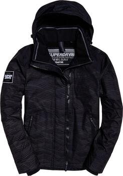 Superdry Hooded Arctic férfi kabát Férfiak fekete