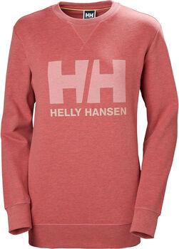 Helly Hansen W HH Logo Crew női pulóver Nők rózsaszín