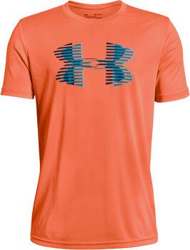 UNDER ARMOUR Tech Big Logo Fiú narancssárga