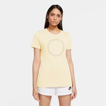 Nike  W Nsw Tee Icon Clashnői ing Nők törtfehér