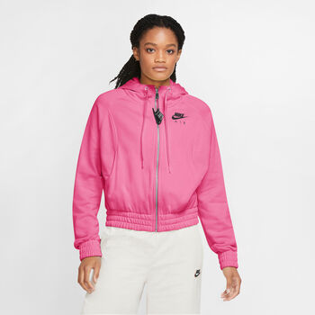 Nike  W Nsw Air Hoodie FZ BBnői kapucnis felső Nők rózsaszín