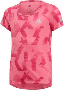 adidas YG TR RUN TEE rózsaszín