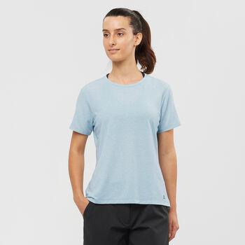 Salomon Essential SS Tee W női póló Nők kék