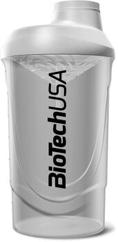 BioTech USA Shaker 600ml fehér