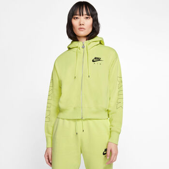Nike Sportswear Air FZ női kapucnis felső Nők zöld
