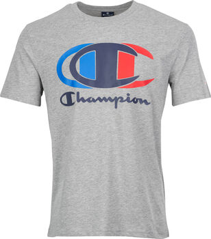 Champion Crewneck Tee férfi póló Férfiak szürke