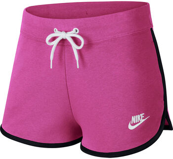 Nike Sportswear Heritage Fleece Shorts Nők rózsaszín