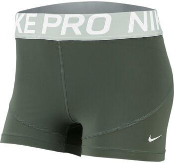 "Nike Pro 3"" Training Shorts Nők zöld"