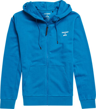 Superdry Core Sport Z.Hood férfi szabadidőfelső Férfiak kék