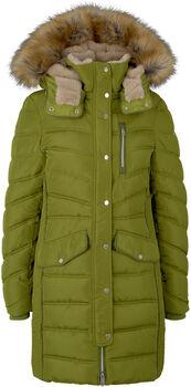 TOM TAILOR Signatur Puffer női kabát Nők zöld