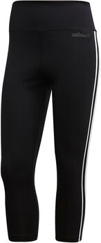 adidas W Design 2Move 3-Stripes Tights 3/4-es női nadrág Nők fekete