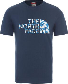 The North Face Berard férfi póló Férfiak kék