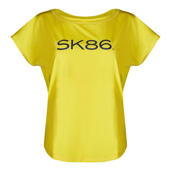 SKINY SK86 Da. T-Shirt Nők sárga