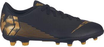 Nike Jr. Vapor 12 Club MG gyerek stoplis focicipő Fiú fekete