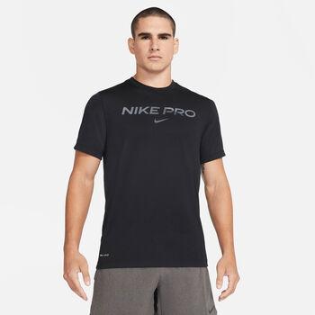 Nike Pro férfi póló Férfiak fekete