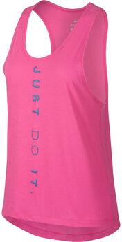 Nike Dri-FIT Miler Running Tank Nők rózsaszín