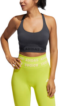 adidas Training Aeroknit sportmelltartó Nők szürke