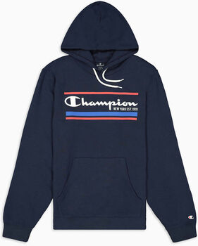 Champion Hooded Sweatshirt férfi kapucnis felső Férfiak kék
