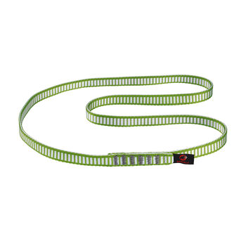 MAMMUT Tubular csúszóhurok zöld