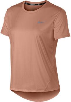 Nike Miler SS Running Top női futópóló Nők rózsaszín