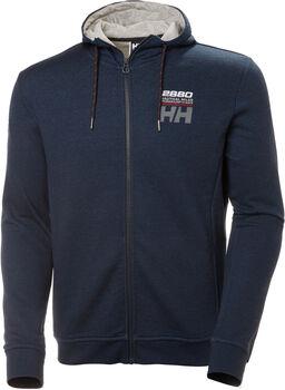 Helly Hansen Club FZ Hoodie férfi kapucnis felső Férfiak kék