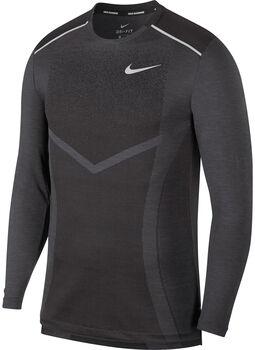 Nike M Nk Techknit Cl Ultra  férfi hosszúujjú felső Férfiak fekete