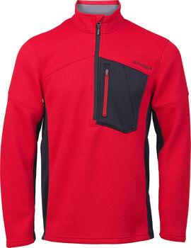 Spyder  Bandit Half Zipfleece felső Férfiak piros