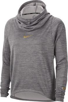 Nike Top Ls Glam Midlayer női hosszúujjú felső Nők szürke