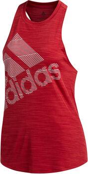 adidas Badge of Sports Tanktop Nők piros