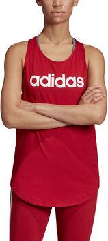 adidas Essentials Linear női ujjatlan felső Nők piros