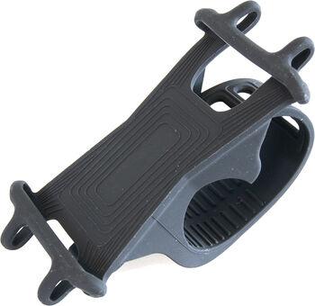 KTM kerékpáros szilikon mobiltelefon tartó tok fekete