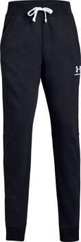 Under Armour Cotton Fleece gyerek nadrág fekete