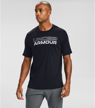 Under Armour Blurry Logo Wormark férfi póló Férfiak fekete