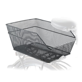 Cytec kerékpár kosár csomagtartóra fekete