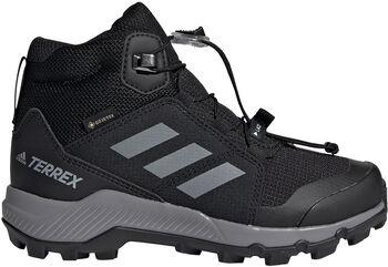 adidas Terrex Mid GTX K gyerek túracipő fekete