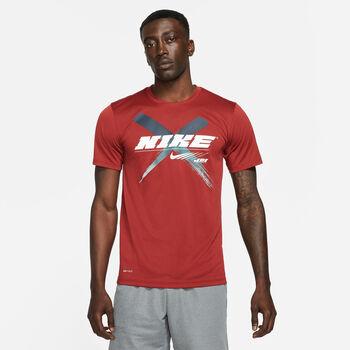 Nike Dri-FIT Graphic férfi póló Férfiak piros
