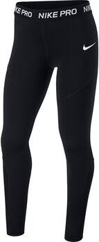 Nike Pro lány nadrág fekete