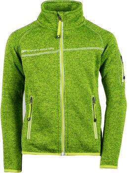 GTS gyerek fleece felső zöld