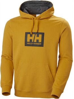 Helly Hansen Tokyo Hoodie férfi kapucnis felső Férfiak barna