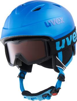 Uvex Airwing 2 pro gyerek sísisak szemüveggel kék