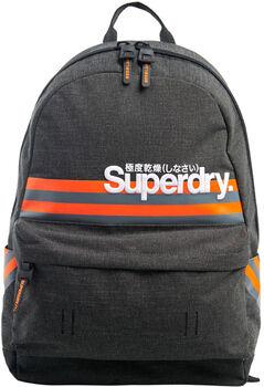Superdry  Montauk Stripesporttáska fekete