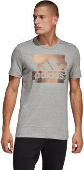 adidas Foil Badge of Sport férfi póló Férfiak szürke