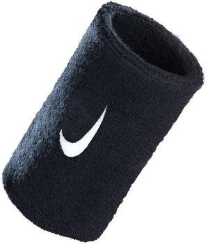 Nike Swoosh dupla széles csuklópánt fekete